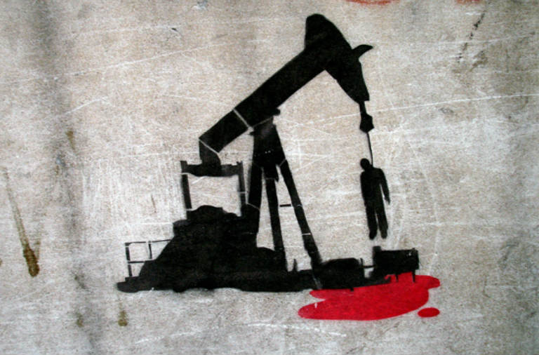 El negro mar de la colonialidad - Llorar sobre el petróleo derramado - Andén 41