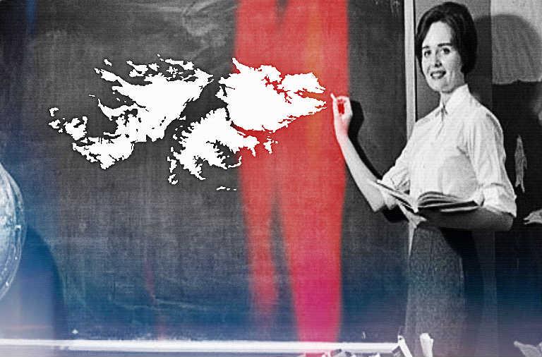 Las Malvinas en la escuela argentina - Andén 69