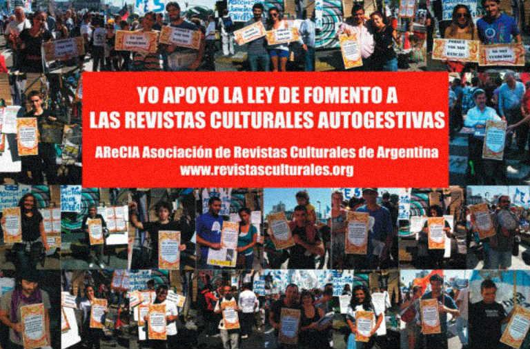 Se presentó la Ley de Fomento para Las Revistas Culturales y Autogestivas - Andén 74