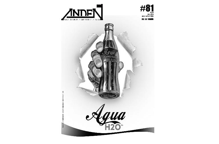 Andén 81 – Agua=H2O