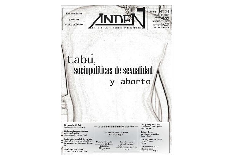 Tabú: Sociopolíticas sobre la sexualidad y el aborto - Editorial - Andén 34
