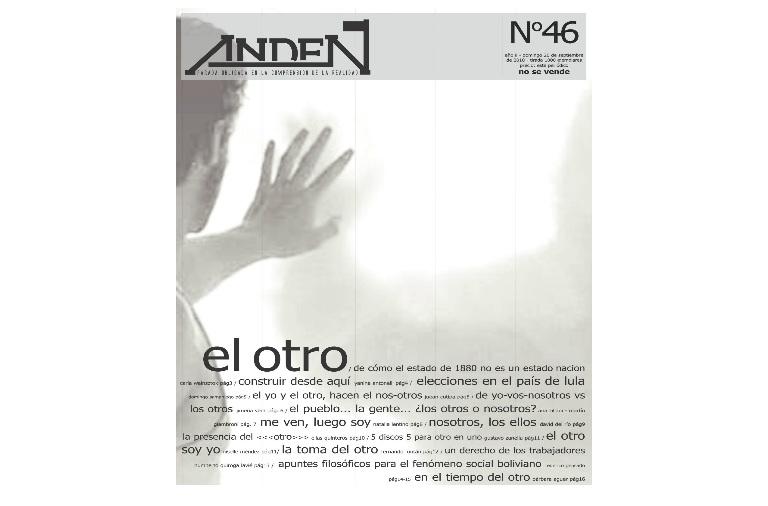 El Otro en la política Argentina - Editorial 46