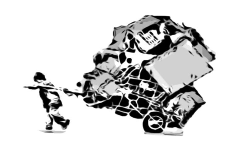 """""""La basura es una riqueza, por eso un montón de gente quiere usurparnos el laburo"""" - diálogo con Sergio Sánchez, presidente de la federación de cooperativas de cartoneros - Andén 83"""