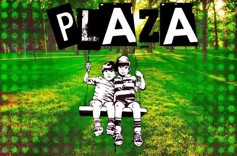 Los niños, la plaza, muchas tapitas y una rayuela - Andén 88